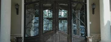 wrought iron front doorsWrought Iron Doors Houston   2017 Amador Iron Works