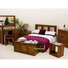 Sheesham Bedroom Furniture Tns Furniture Cube Bed
