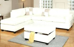 cream colored sectional sofa marvelous colored leather ottoman cream bonded leather reversible modern sectional sofa w