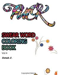 Swear Word Coloring Book Adults Coloring Book For Lady Fuck Vol