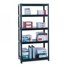safco 5246bl boltless steel shelving
