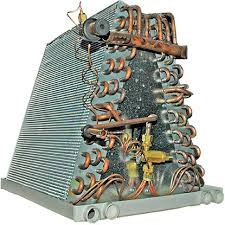 air conditioning evaporator. the indoor cooling coil for your home air conditioning system. evaporator l