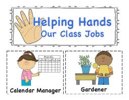 Classroom Jobs Application And Pocket Chart Cards