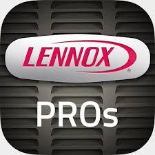 lennox logo. download the lennoxpros app lennox logo