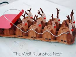 25 Easy Christmas Crafts For Kids To Make  Hands On As We GrowChristmas Crafts With Egg Cartons