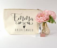 this elegant make up bag is the perfect place to stash your wedding day essentialakes a wonderful gift for your bridesmaids this make up bag