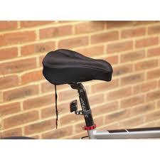 mofred black bike bicycle extra comfort soft gel seat saddle cushion cover