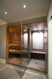 Master bathrooms  sauna shower ...