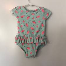 GAP Swim   Baby Baby Girl Watermelon Bathing Suit   Poshmark