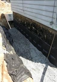 exterior basement waterproofing diy waterproofing exterior basement walls