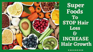 super foods to stop hair loss