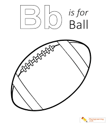 There are 11330 kids coloring sheets for sale on etsy, and they cost $3.76 on average. B For Ball Carinewbi