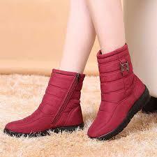 Plus size <b>snow boots</b> women <b>winter boots</b> plus fur <b>keep warm</b> non ...