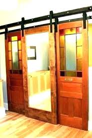 exterior pocket doors sliding hardware barn door glass with modern interior