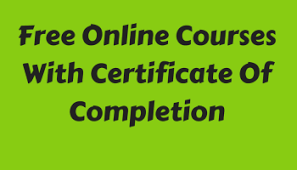Online Certificates Free Free Online Courses With Certificates In India