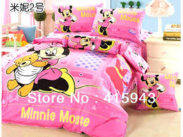 mouse full size bedding new arrival mickey and king minnie set hot pink custom personalized with mouse bedding set full size pink sets kids minnie