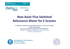 pdf new axial flux switched reluctance