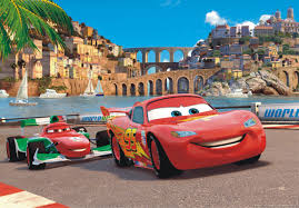 disney cars 2 wallpaper. Unique Disney XXL Poster Wall Mural Wallpaper Disney Cars 2 McQueen U0026 Bernoulli Photo 160  Cm X 115 In Wallpaper I