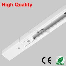 track lighting rail. 1m led light track rail bar universal spot lamp t lighting system fixture rails 1