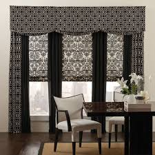 office drapes. custom drapery mixed patterns eclectic home office orange county budget blinds drapes