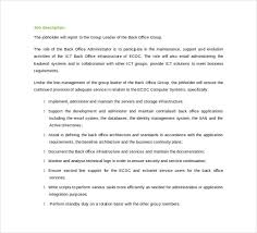 Microsoft Job Description Microsoft Word Job Description Template Rome Fontanacountryinn Com