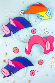 diy my little pony the costume headbands flair
