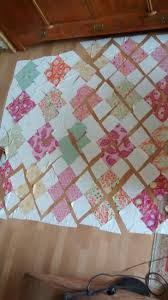 Brookshier Design Studio Japanese Jigsaw Quilt Ready To Be Sewn Puzzle Quilt