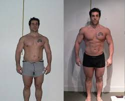 testosterone propionate results before and after