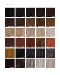 Wig Color Chart Color Chart