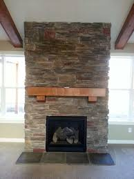 rock facing for fireplaces