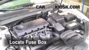 replace a fuse 2006 2010 hyundai sonata 2009 hyundai sonata gls 2007 hyundai sonata interior fuse box at 2006 Hyundai Sonata Fuse Box