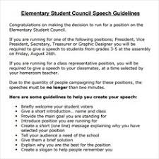 student council speech google search student council elementary school student council speech examples