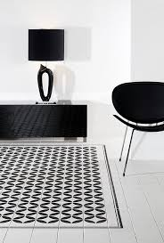 black and white ceramic tile a must in a modern