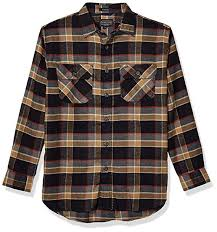 Pendleton Shirt Size Chart Pendleton Mens Long Sleeve Super Soft Burnside Flannel Shirt