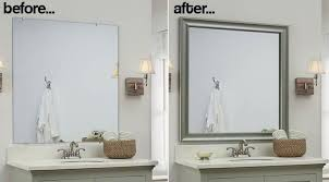 modern bathroom mirror frames. Perfect Bathroom Cheap Bathroom Mirror With Frames View Home Tips Modern  2 Easy To Install Sources A DIY In