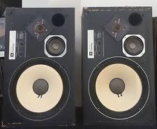 vintage jbl speakers. vintage jbl l100 century monitor speakers pair set w/ grills no foam jbl -