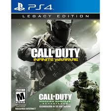 Call Of Duty Infinite Warfare Legacy Edition Activision Playstation 4 047875878570 Walmart Com