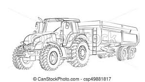 Trekker Kleurplaat New Holland Tractor Coloring Pages John Deere Az