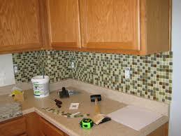 Glass Kitchen Backsplash Interior Fascinating Kitchen Backsplash Mosaic Tiles For Your