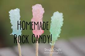 picture of homemade rock candy