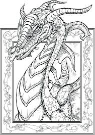 Realistic Dragon Coloring Pages Encourage Free Printable Chinese