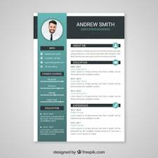 curriculum template resume vectors photos and psd files free download