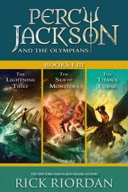 percy jackson and the olympians books i iii collecting the lightning thief