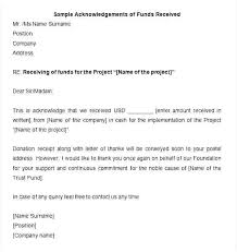 Acknowledgement Of Letter Received Acknowledgement Of Letter Received Template Acceptance For
