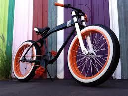 mode bikes madly making orange