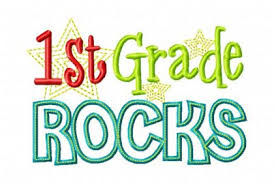 "words ""first grade rocks"""