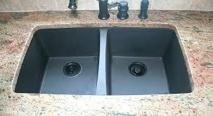 Composite Sink Sinks Vs Stainless Steel Reduce Granite  Crack Repair O93