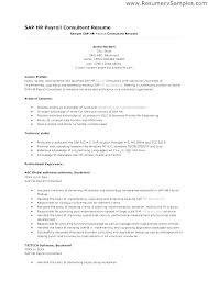 Sales Consultant Resume Sample Sample Professional Resume Best Consulting Resume