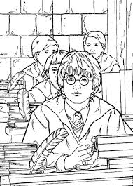 Coloring Pages Harry Potter Coloring Pages Free And Printable For