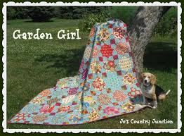 Garden Girl Quilt Â« Moda Bake Shop & Yep, it's been awhile since Kelli and I have had a quilt for you here at  Moda Bake Shop. We've been really busy. We sent our quilt book, scheduled  to come ... Adamdwight.com